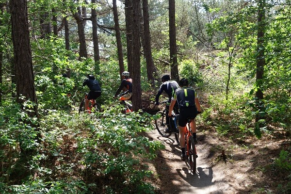 Mountainbike huren Schoorl groepen