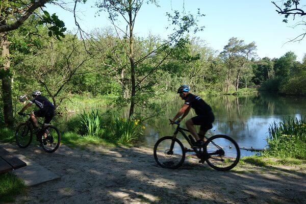 Huur mountainbikes PWN gebied