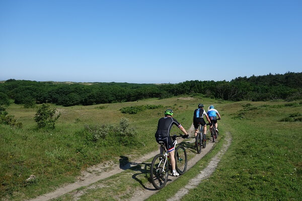 Huur mountainbikes PWN gebied breed