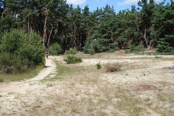 Huur mountainbike huren Drunen Open vlakte