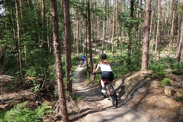 Huur mountainbikes Hoge Vuursche Leuke-afdalingen