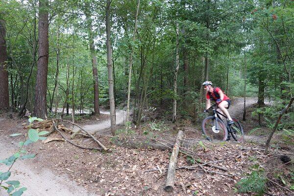 Huur mountainbikes Hoge Vuursche Vele bochten