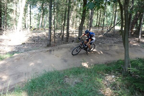 Mountainbike huren Groesbeek Traumapad