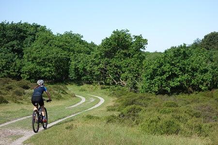 Mountainbike huren PWN gebied
